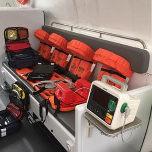 Medical Equipment - Ambulance Boat