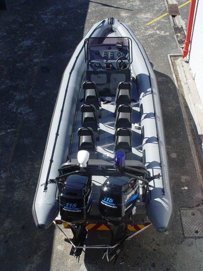 9,5m Commercial RIB Boat