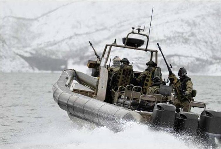 MAKO Aluminium Ribs Military