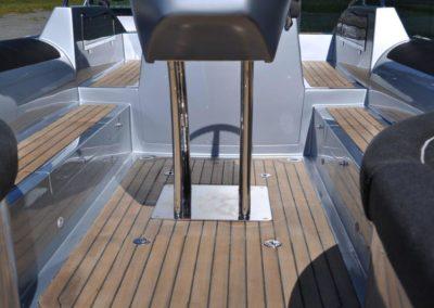 Custom designed tender yacht