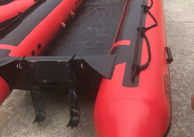 Mako fully inflatable boat