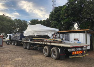 Mako Africa boat delivery to a client
