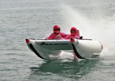Thunderduck - rubber duck racing boat