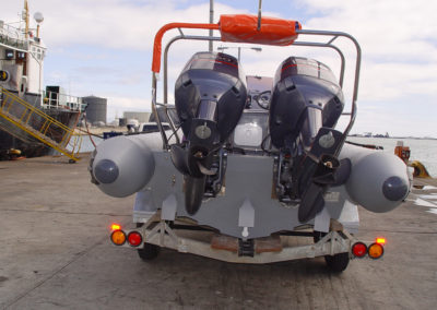 7.2m inflatable boat engines