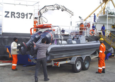 7.2m Rigid Inflatable Boat with two Yamaha engines
